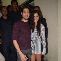 Katrina Kaif and Sidharth Malhotra at Special screening of 'Bar Bar Dekho'