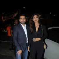 Shilpa Shetty and Raj Kundra at Birthday Bash of Raj Kundra