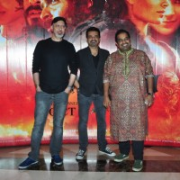 Ehsaan Noorani, Loy Mendonsa and Shankar Mahadevan at Music launch of film 'Mirzya'