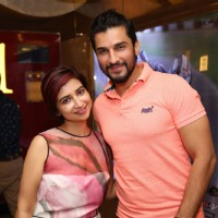 Manish Raisinghan with Rashmi Sharma at Special screening of Film 'Pink'
