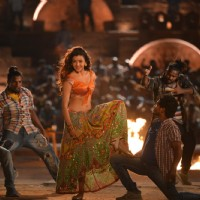 Kajal Aggarwal from Pakka Local Song in Janatha Garage