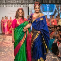 Raveena Tandon becomes showtopper for Jayanthi Ballal At Mysore Fashion Week – SEASON 3