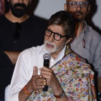 Amitabh Bachchan at Success meet of 'Pink'