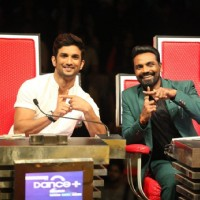 Celebs at Promotion of 'M.S. Dhoni: The Untold Story' on sets of Dance Plus 2