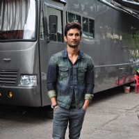 Sushant Singh Rajput Spotted In The City
