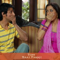 Tabu and Sharman looking surprised | Toh Baat Pakki Photo Gallery