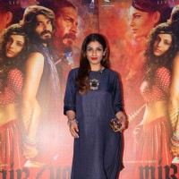 Raveena Tandon at Promotion of film 'Mirzya'