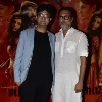 Rakeysh Omprakash Mehra and Prasoon Joshi at Special screening of film 'Mirzya'