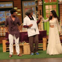 Jennifer Winget and Kushal Tandon visit on the sets of 'The Kapil Sharma Show'