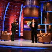 Karan Johar and Amitabh Bachchan on tv show Lift Kara De