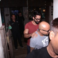 Shahid Kapoor Snapped shorts and T-shirt