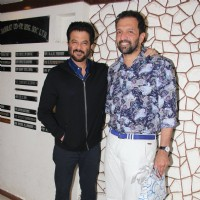 Anil Kapoor and Atul Kasbekar at Javed Akhtar's Birthday Bash