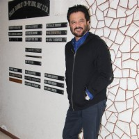 Anil Kapoor at Javed Akhtar's Birthday Bash