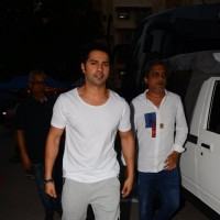 Varun Dhawan Snapped at Mehboob Studio