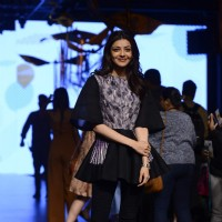 Kajal Aggarwal at Lakme Fashion Week 2017 Day 1