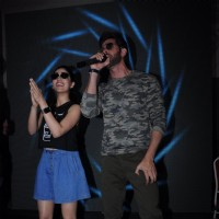 Hrithik Roshan and Yami Gautam grooves on beat during Promotion of 'Kaabil' at Mithibai College