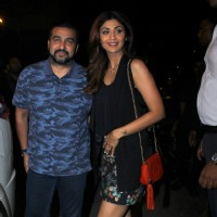 Shilpa Shetty and Raj Kundra Snapped Dinner Outing!