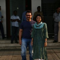 Aamir Khan and Kiran Rao snapped at the airport!