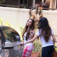 Malaika Arora Khan snapped in the city