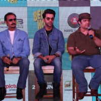Rajkummar Rao, Gulshan Grover attend Behen Hogi Teri film's bash