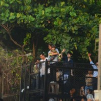 Shah Rukh Khan with son AbRam Khan