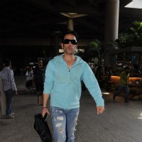Tusshar Kapoor at the Airport