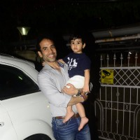 Tusshar's play date with his son!