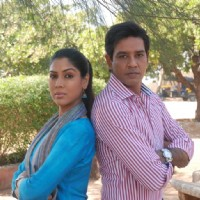 Anup Soni and Saakshi Tanwar in tv show Crime Patrol