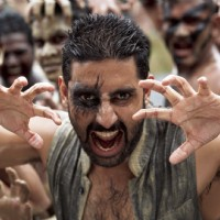 Abhishek Bachchan in the movie Raavan