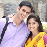 Still image of Anuj and Mili