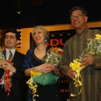 International dignitaries at the MAMI (Mumbai Academy of the Moving Image) film festival This year the festival will be dedicated to Hrishikesh Mukherjee In all, 125 films will be screened from 40 countries with special focus on South Africa