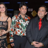 Adnan Sami''s new album Ek Din was launched by T-series in Mumbai on April 12 Lyrics writer Sameer and former actress Divya Kumar were present at the launch
