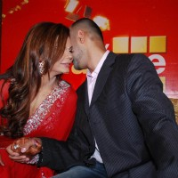Rakhi Sawant with her Fiance Elesh Parujanwala in Media