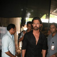 "Hrithik Roshan on the Sets of Farah Khan''s Chat Show ""Tere Mere Beach Mein"" at Filmcity"