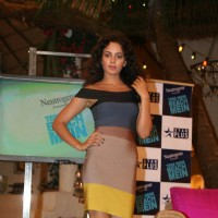 "Kangana Ranaut on the Sets of Farah Khan''s Chat Show ""Tere Mere Beach Mein"" at Filmcity"