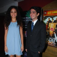 Ayesha with Parzan Dastur at Sikandar Premiere