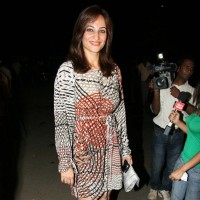 Rakshanda Khan at the Ekta Kapoor beach wear theme bash (Photo : IANS)