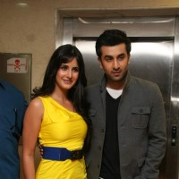 Katrina Kaif and Ranbir Kapoor at ''Ajab Prem Ki Gajab Kahani'' press meet at Yashraj, in Mumbai | Ajab Prem Ki Ghazab Kahani Event Photo Gallery