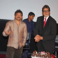 Ram Gopal Varma and Amitabh Bachchan at Rann''s first look at PVR | Rann Event Photo Gallery