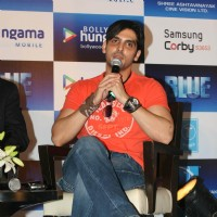 Zayed Khan promotes film Blue at JW Marriott | Blue Event Photo Gallery