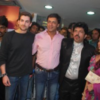 Jail Team Mugdha Godse and Neil Nitish Mukesh at Shivas Saloon launch at Juhu | Jail Event Photo Gallery