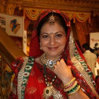 Smita Jaykar at Zee TV''s Yahan Mein Ghar Ghar Kheli serial music launch, Film City