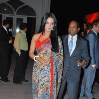 Bollywood actors Celina Jaitley at the IIFA press meet