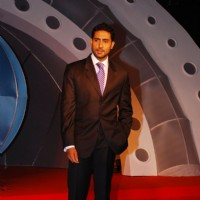 Abhishek Bachchan at National Bingo Night media meet at Taj Lands End, Bandrain in Mumbai on Monday Afternoon