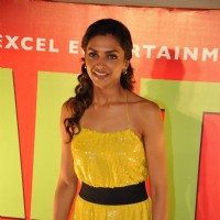 "Deepika Padukone, at ""Karthik Calling Karthik Film Music Launch"" in Cinemax 