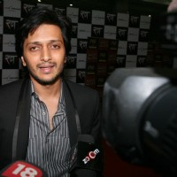 "Bollywood star Ritesh Deshmukh for the red carpet premiere of the movie ""Rann"" , in New Delhi on Thursday 28 Jan 2010 