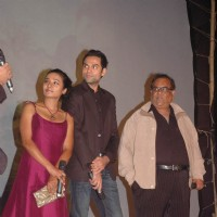 Bollywood actors Tanishtha, Abhay Deol and filmmaker Satish Kaushik at Road movie media meet at Bandra, Mumbai on Wednesday Night | Road, Movie Event Photo Gallery