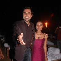Bollywood actors Abhay Deol and Tanishtha at Road movie media meet at Bandra, Mumbai on Wednesday Night | Road, Movie Event Photo Gallery