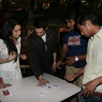 Teen Patti star cast at Oberoi Mall in Goregaon | Teen Patti Event Photo Gallery