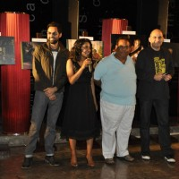 Abhay Deol, Tannishtha Chatterjee and Satish Kaushik at Road Movie Photo Exhibition at Phoenix Mill | Road, Movie Event Photo Gallery